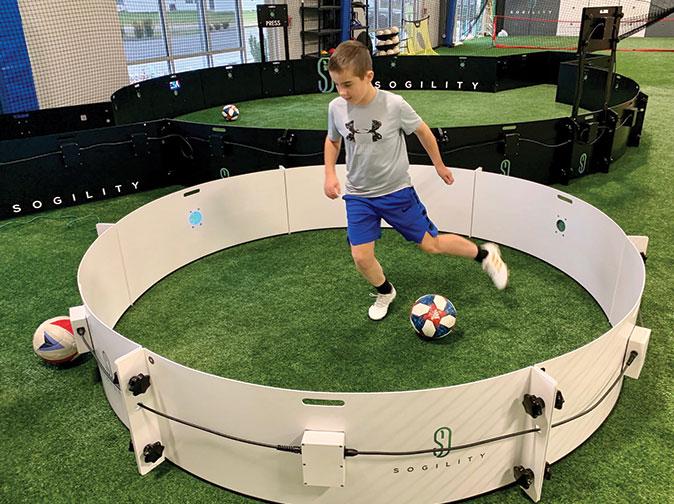 Technical Soccer Zone Training